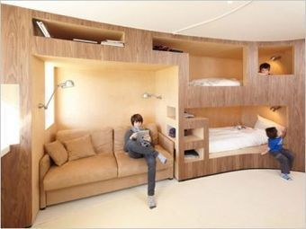 Habiter dans un meuble | Inspiration - Graphisme - Décoration | Scoop.it