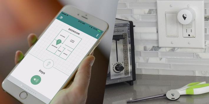 TrackR Atlas, la géolocalisation de ses objets à l'intérieur de la maison - Web des Objets | SmartHome | Scoop.it