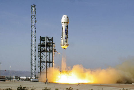 Tests réussis pour la fusée New Shepard de Blue Origin | Space business and exploration | Scoop.it