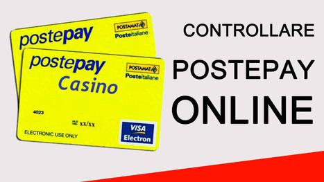 Metodo di deposito dei Casinò con Postepay | Giochi Casinò Online con Bonus gratis e senza deposito AAMS | Scoop.it