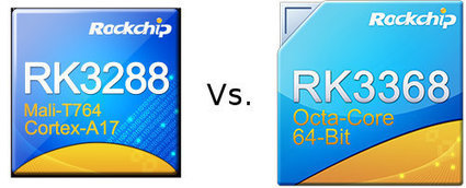 Rockchip RK3288 vs RK3368 Benchmarks Comparison | Embedded Systems News | Scoop.it