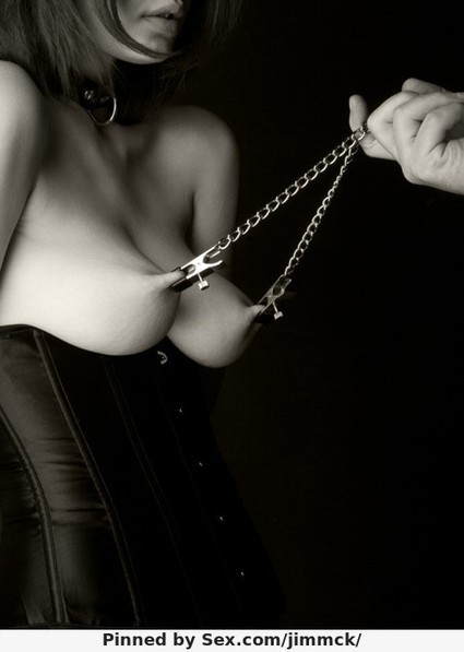nipples, clamps and chains Tits | femdom | Scoop.it