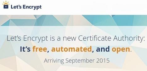Le certificat SSL gratuit pour sécuriser tout site via HTTPS sera bientôt disponible - #Arobasenet.com | e-marketing | Scoop.it