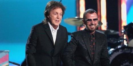 Grammy Awards : Paul McCartney et Ringo Starr réunis sur scène | Paul McCartney | Scoop.it