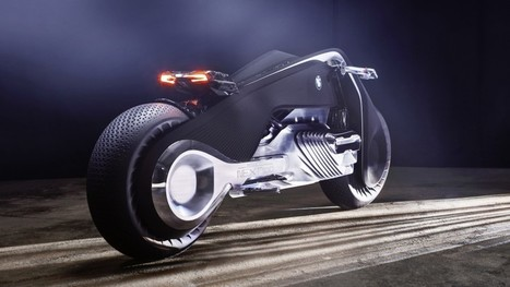 The BMW Motorrad Vision Next 100 concept bike will NEVER fall over | Future Trends | Scoop.it