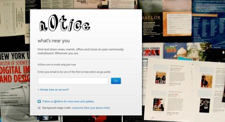 n0tice - community noticeboard for sharing news | Social media kitbag | Scoop.it