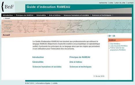 Guide d'indexation Rameau | Infocom | Scoop.it