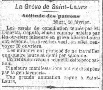 Mineurs grévistes à Saint-Laurs | Généalogie | Scoop.it