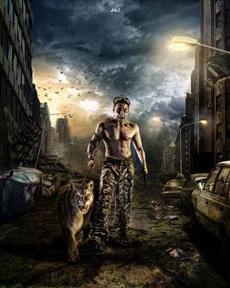 "30 Inspirations of Fabulous Photo Manipulation | Artfans Design | ""Cameras, Camcorders, Pictures, HDR, Gadgets, Films, Movies, Landscapes"" 