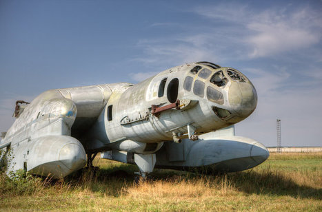 A Weird Soviet Plane VVA-14 | English Russia | An Eye on New Media | Scoop.it
