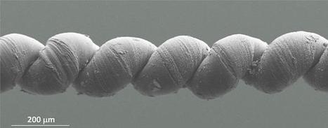 Nanotech yarn behaves like super-strong muscle | KurzweilAI | Longevity science | Scoop.it