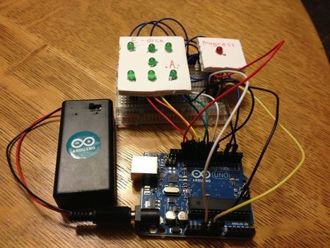 Arduino Project - E-Dice! (Beginner) | Open Source Hardware News | Scoop.it