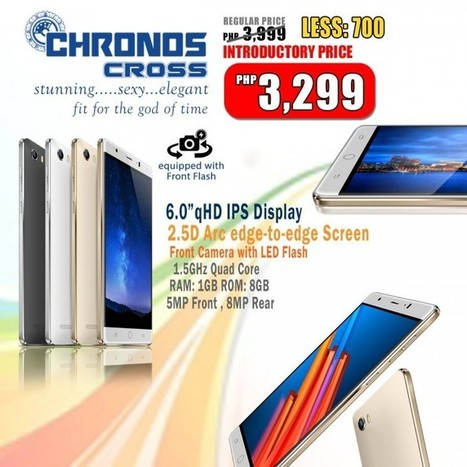 SKK Chronos Cross and Chronos Byte unveiled | NoypiGeeks | Philippines' Technology News, Reviews, and How to's | Gadget Reviews | Scoop.it