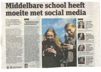 Hoe een school een twitterprobleem kan ombuigen tot een kans   Sociale media en jongeren   Sociale Media en school   Scoop.it