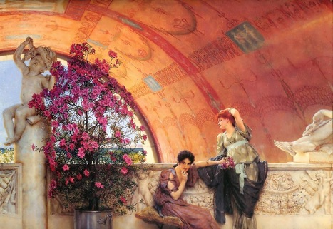 PURA KASTIGÁ: Get Seduce, Art, Poetry, Beauty: LAWRENCE ALMA TADEMA: LA ESTÉTICA MAS SENSUAL | Mundo Clásico | Scoop.it