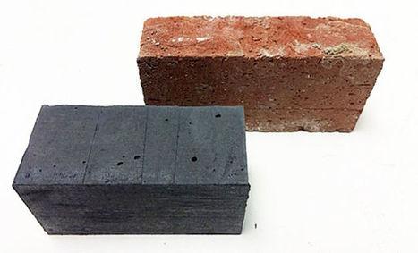 Este ladrillo negro es la solución del MIT para construir sin contaminar - Gizmodo en Español | Terre cuite Espagne | Scoop.it