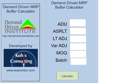 Play 'DDMRP Buffer Profile iPad' on GameSalad Arcade | TLS - TOC, Lean & Six Sigma | Scoop.it