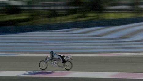 François Gissy's rocket-powered bicycle breaks speed record | Heron | Scoop.it