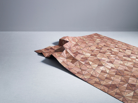 LOCZIdesign (sinmister: Wooden textiles by Elisa Strozyk)   Intriging in Textiles   Scoop.it
