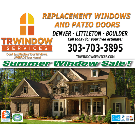 Replacement Windows by TR Window Services - Littleton, CO 80123 - (303)703-3895 | ShowMeLocal.com | Architectural Windows | Scoop.it