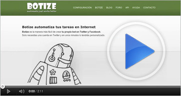 BOTIZE - Tu Bot en Twitter | Antonio Galvez | Scoop.it