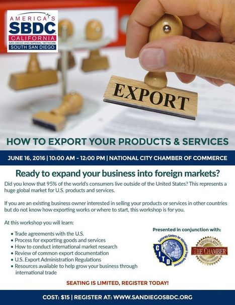 How to Export Your Products & Services | International Trade | Scoop.it
