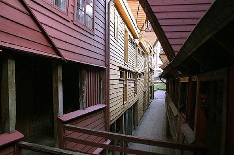 Norvège : survolez Bergen et baladez-vous en ville en l'an 1300 ! | Arctique et Antarctique | Scoop.it