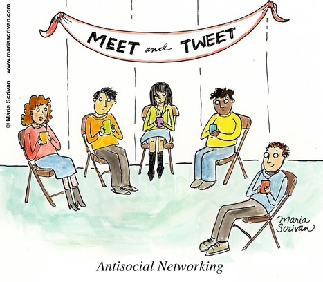 The Art of Antisocial Networking | Teachers, Education and Tecnologies | Scoop.it