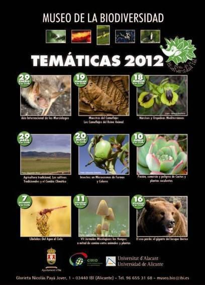 El Museo de la Biodiversidad de Ibi organiza sus actividades temáticas para el 2012 | Agua | Scoop.it