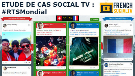 Etude de cas Social TV : le dispositif digital RTSMondial | Social TV is everywhere | Scoop.it