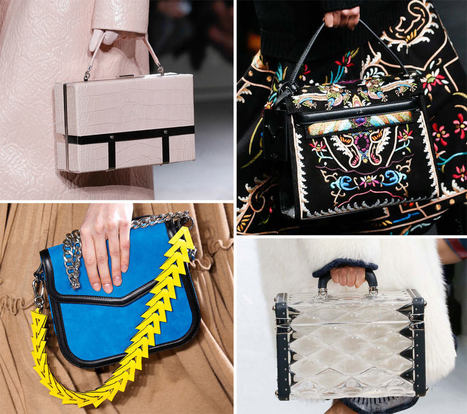The 15 Best Runway Bags of Paris Fashion Week Fall 2015 | FBESHOP | Scoop.it