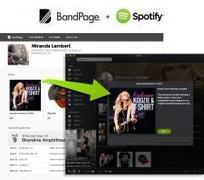 Artists can now sell direct to fans on Spotify via BandPage | Infos sur le milieu musical international | Scoop.it