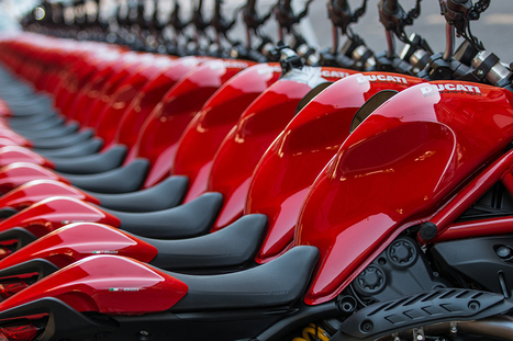 Another record year for Ducati with 45,100 bikes sold in 2014 | Motorcycle Industry News | Scoop.it