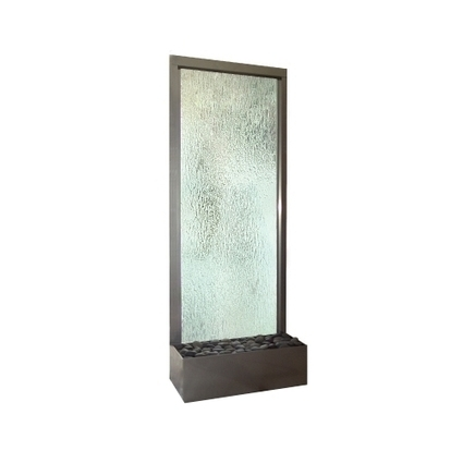 Exalted Fountains   Indoor Waterfall Glass Styles   Indoor Fountains In All Sizes   Scoop.it