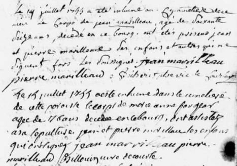 Décès rapprochés à Courlay | Rhit Genealogie | Scoop.it
