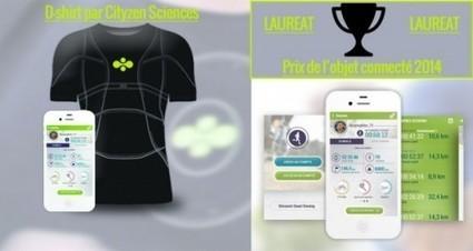 D-Shirt, le nouveau t-shirt connecté de Cityzen Sciences - Maison et Domotique | the web: design, E-skills & news | Scoop.it