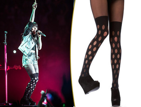 Get Carly Rae Jepsen's House Of Holland x Pretty Polly Tights! - MTV.com | Fashion Hosiery | Scoop.it