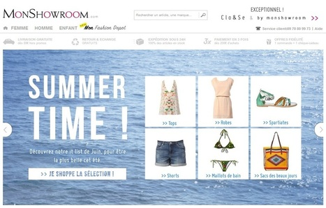 Code promo MonShowroom : Réduction mode & accesoires - Twenga Magazine | Mode | Scoop.it