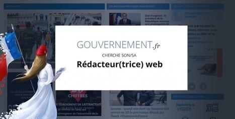 Gouvernement.fr recrute un(e) rédacteur(trice)  web | Bonnes pratiques en documentation | Scoop.it