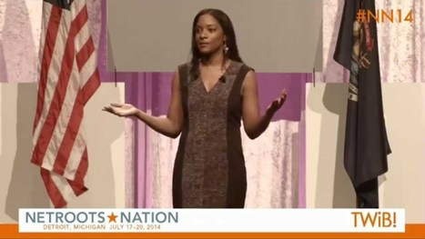 ▶ Zerlina Maxwell | IGNITE at @Netroots_Nation #NN14 - YouTube | Creative Change | Scoop.it