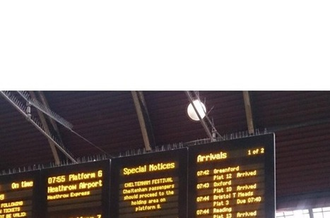 Paddington station now has departure board ASCII art | ASCII Art | Scoop.it