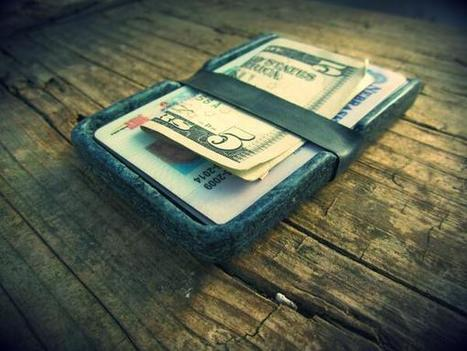 Twitter / irisindustries: Molded wallet made from recycled ... | Sustainable products | Scoop.it