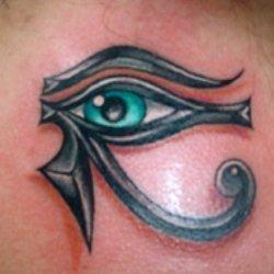 Egyptian Eye of Horus Tattoos | My Best Squidoo Lenses | Scoop.it