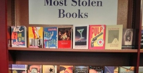 What Are the Most Stolen Books? Bookstore Lists Feature Works by Murakami, Bukowski, Burroughs, Vonnegut, Kerouac & Palahniuk | Books, Photo, Video and Film | Scoop.it