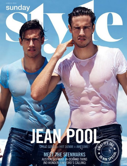 The Stenmark Twins Double Down On Denim For Latest Spread | Paris-Confidential | Scoop.it