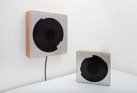 Spira: An Inductive iPhone Charger and Clock by Design Student Alice Robbiani | design killer bees | Scoop.it