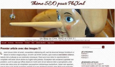 BlancSEO: thème SEO optimisé pour PluXml | fonds d'écran gratuits | Scoop.it