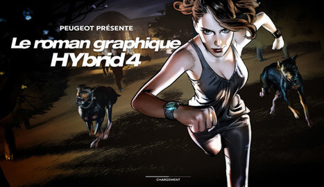 HyBrid4 Graphic Novel : Quand Peugeot expérimente le storytelling en 4D ! | MediAlternative | Scoop.it