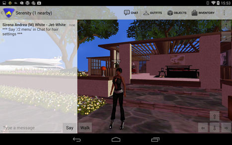 SL Go: Second Life on a tablet, on the move and more | Second Life | Scoop.it