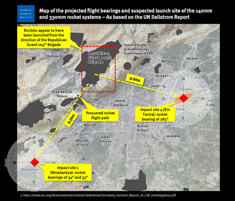 A detailed examination of the range of the 330mm rocket used in the August 21st Sarin attack | Syria CW | Scoop.it